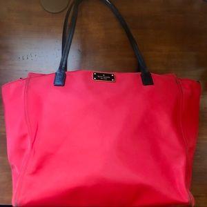 Kate Spade ♠️ Red Tote Bag